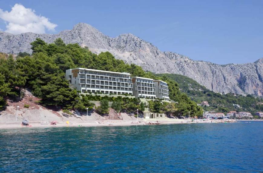 makarska region erschlossenes hotel grundst ck am meer. Black Bedroom Furniture Sets. Home Design Ideas