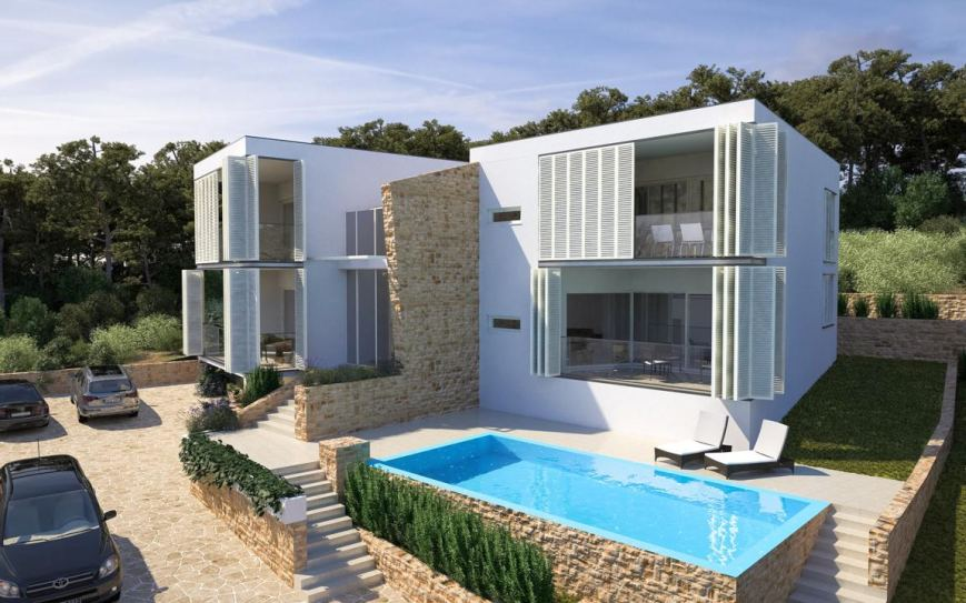 Luxusvilla Duplex mit Meerblick in Dalmatien, Insel Murter