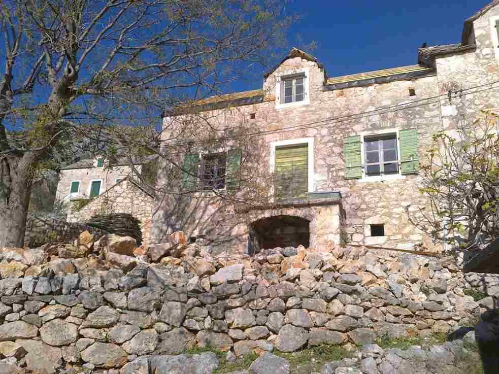Insel Brac Altes Typisches Steinhaus Zum Renovieren