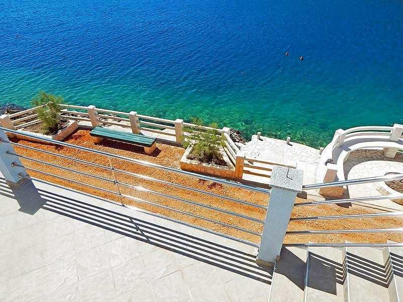 Dalmatien, Trogir: Großzügige Villa Am Meer Mit Pool Terrassen Design Meer Bilder