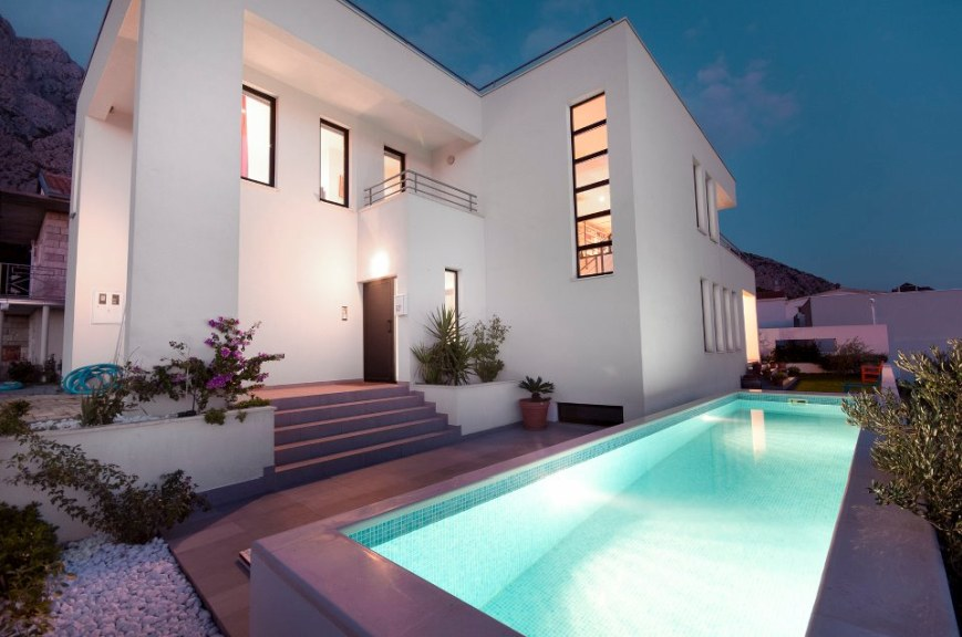 Moderne luxusvilla kaufen  Insel Ciovo: Luxusvilla mit Pool (Neubau) im Villenresort