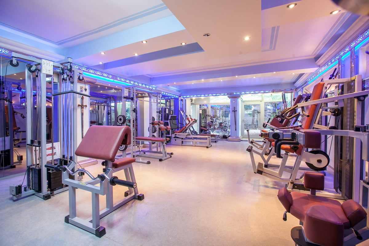 Luxus fitnessraum  Dalmatien, Makarska: Märchen-Villa mit Indoor-Pool