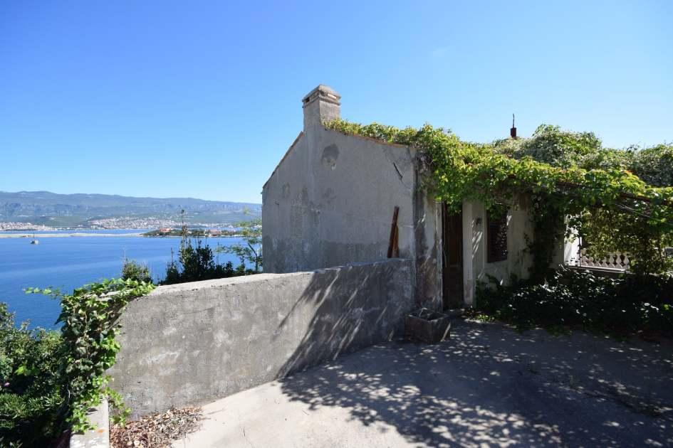 insel krk altes steinhaus zum renovieren am meer. Black Bedroom Furniture Sets. Home Design Ideas