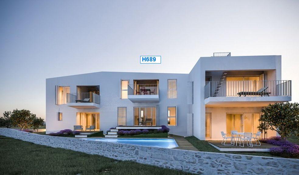 sibenik dalmatien neubau reihenhaus mit pool. Black Bedroom Furniture Sets. Home Design Ideas