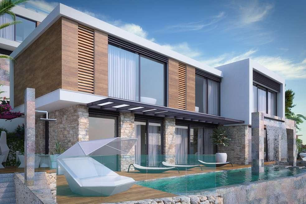 Rogoznica 2 neue Designer Villen am Meer mit Pool