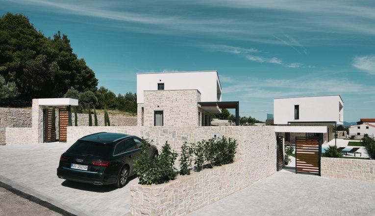 villen in futuristischem design zum verkauf in dalmatien kroatien - Moderne Villen