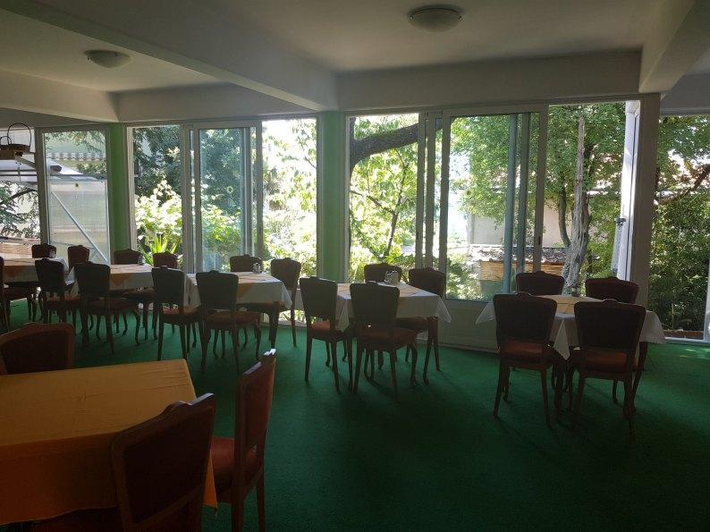 Wonderful Der Speisesaal Im Erdgeschoss Der Pension H924, Die In Crikvenica  (Kroatien) Direkt Am ...