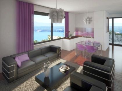 Luxuswohnung in Villa mit Meerblick, Insel Krk