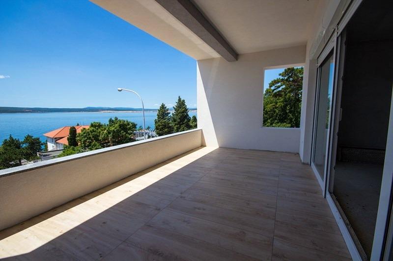 crikvenica kvarner bucht wohnung mit 3 schlafzimmern. Black Bedroom Furniture Sets. Home Design Ideas