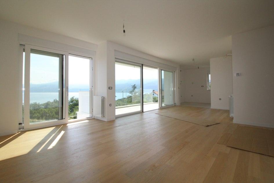 rijeka kvarner bucht neue wohnung mit meerblick. Black Bedroom Furniture Sets. Home Design Ideas
