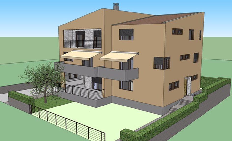 zadar nord dalmatien neubau wohnung mit balkon. Black Bedroom Furniture Sets. Home Design Ideas