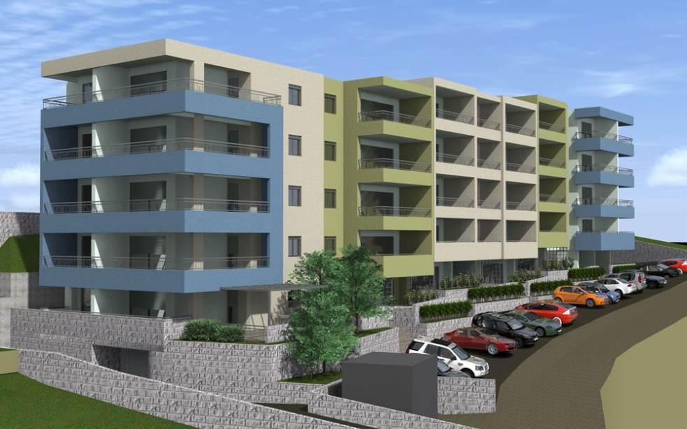 makarska dalmatien neue wohnungen mit balkon. Black Bedroom Furniture Sets. Home Design Ideas