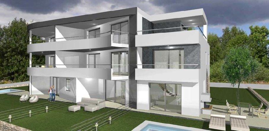 immobilien in novigrad istrien wohnungen h user. Black Bedroom Furniture Sets. Home Design Ideas